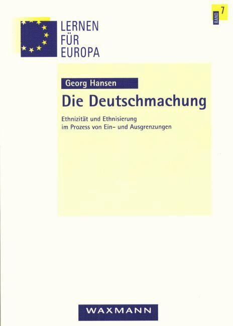 Die Deutschmachung