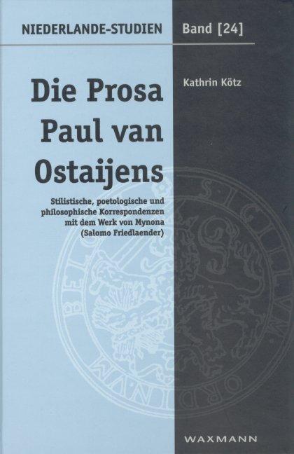 Die Prosa Paul van Ostaijens