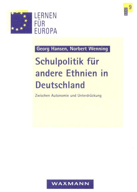Schulpolitik für andere Ethnien in Deutschland