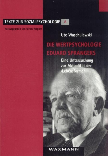 Die Wertpsychologie Eduard Sprangers