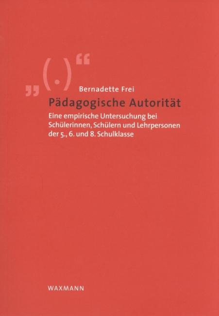Pädagogische Autorität