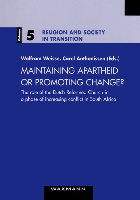 Maintaining Apartheid or Promoting Change?