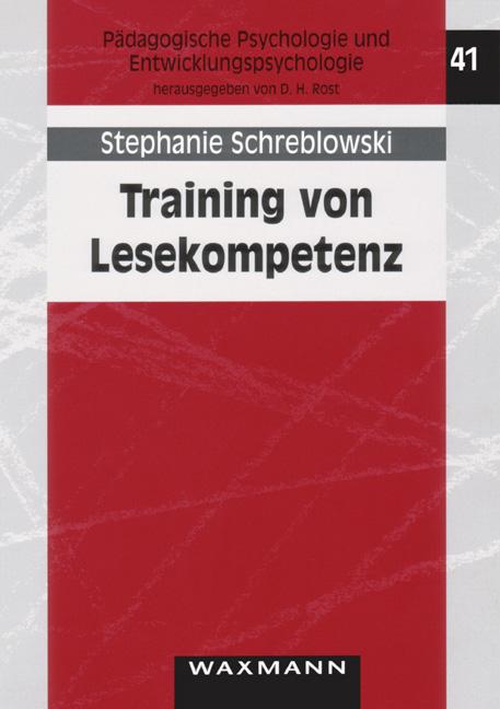 Training von Lesekompetenz