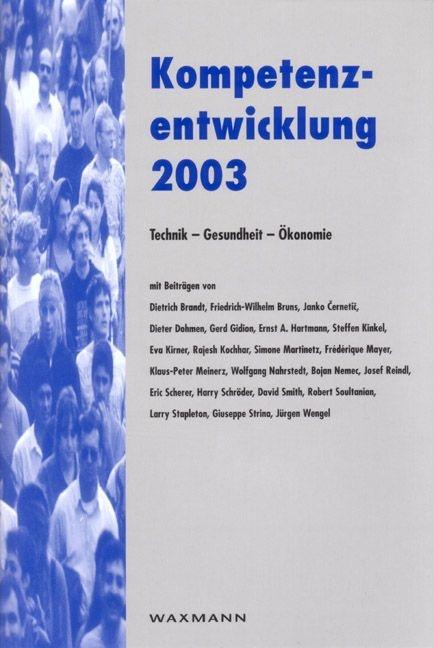 Kompetenzentwicklung 2003