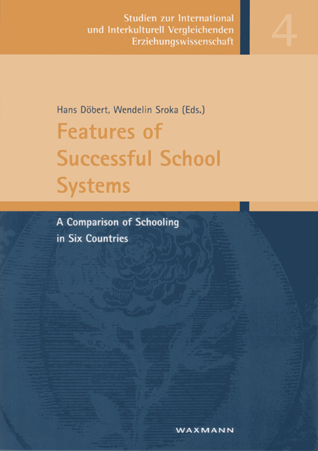 Features of Successful School Systems
