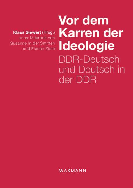 Vor dem Karren der Ideologie