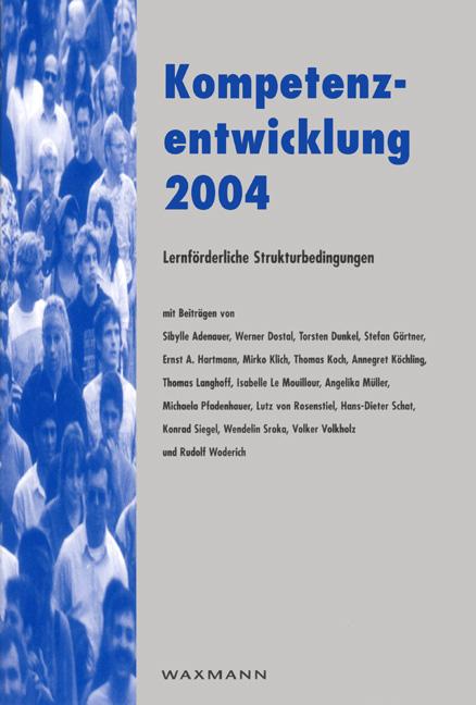 Kompetenzentwicklung 2004