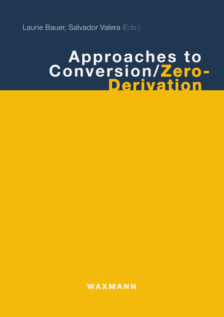Approaches to Conversion / Zero-Derivation
