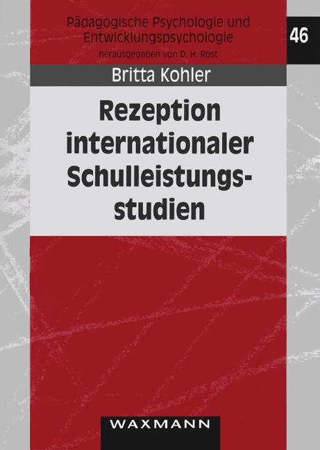 Rezeption internationaler Schulleistungsstudien