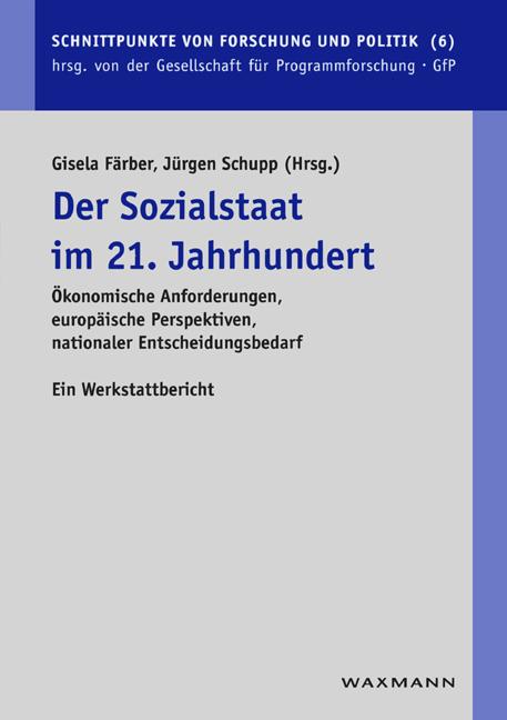 Der Sozialstaat im 21. Jahrhundert