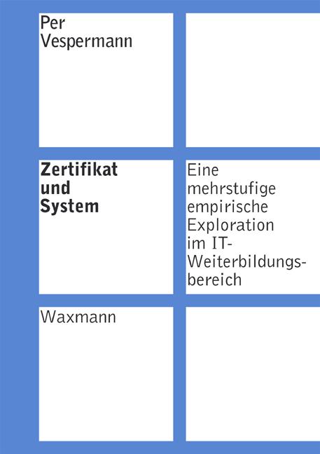 Zertifikat und System