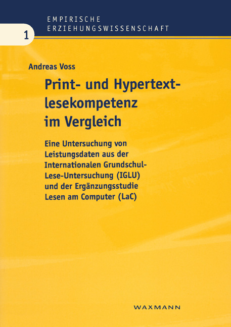Print- und Hypertextlesekompetenzen im Vergleich