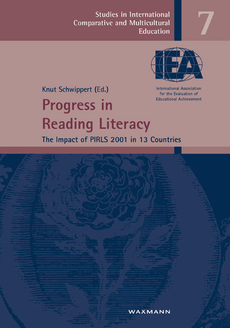 Progress in Reading Literacy