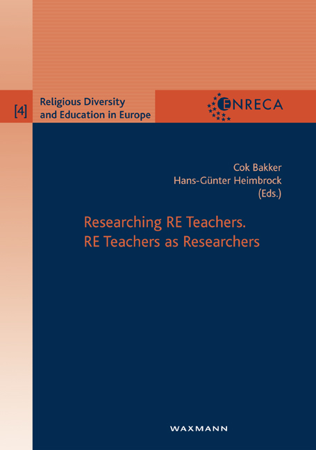 Researching RE Teachers. RE Teachers as Researchers