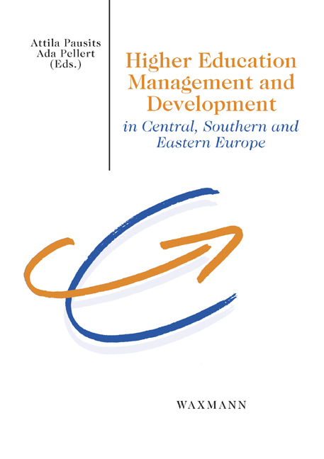 Higher Education Management and Development in Central, Southern and Eastern Europe