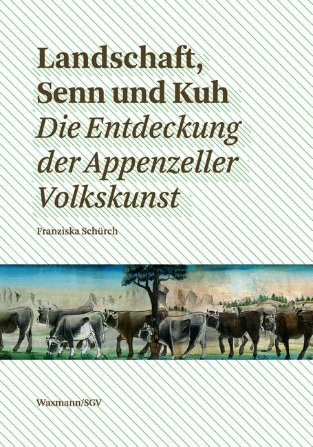 Landschaft, Senn und Kuh