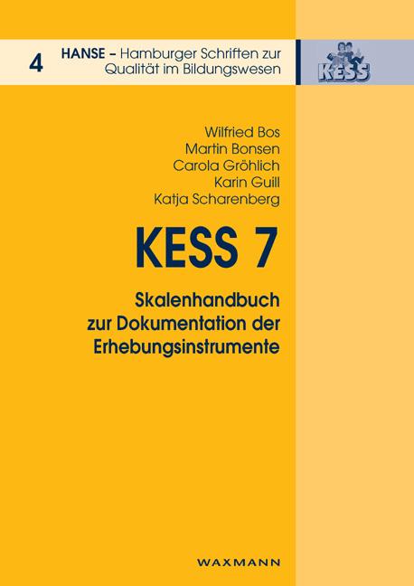 KESS 7 - Skalenhandbuch zur Dokumentation der Erhebungsinstrumente