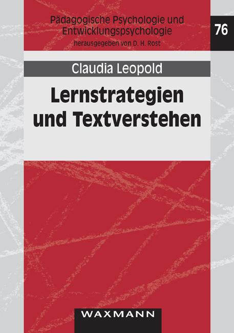 Lernstrategien und Textverstehen