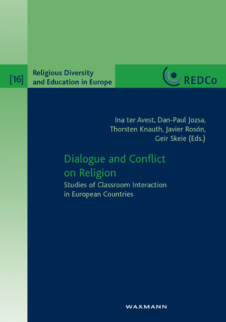 Dialogue and Conflict on Religion