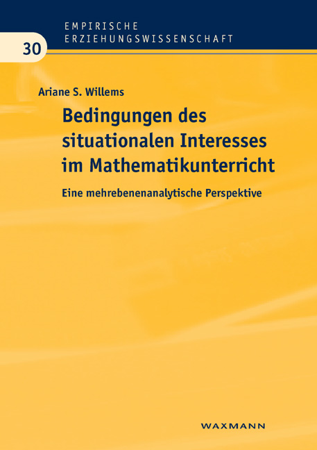 Bedingungen des situationalen Interesses im Mathematikunterricht