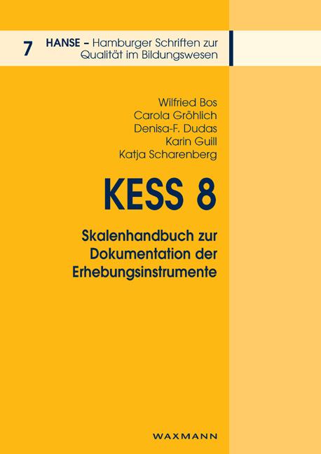 KESS 8 – Skalenhandbuch zur Dokumentation der Erhebungsinstrumente