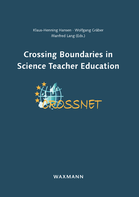 Crossing Boundaries in Science Teacher Education