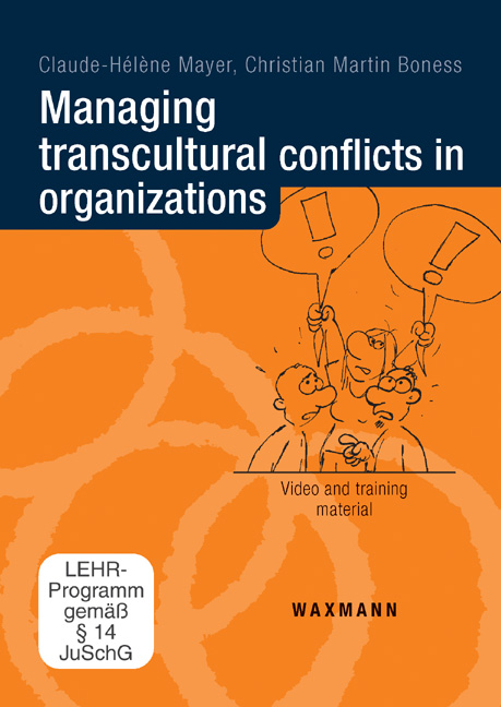 Managing transcultural conflicts in organizations