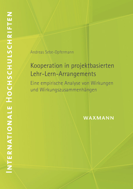 Kooperation in projektbasierten Lehr-Lern-Arrangements