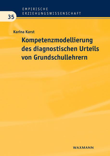 Kompetenzmodellierung des diagnostischen Urteils von Grundschullehrern