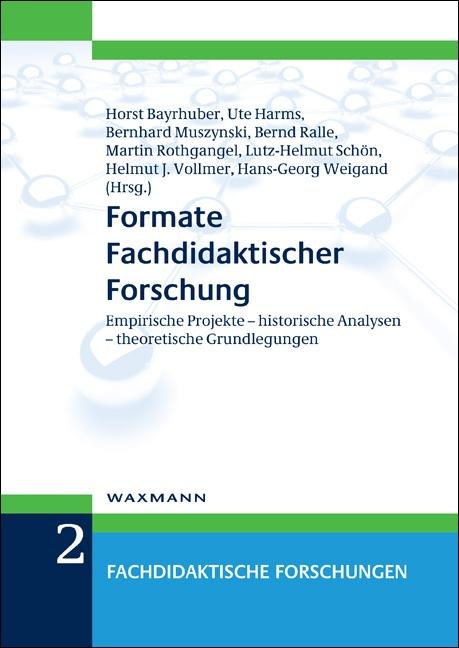 Formate Fachdidaktischer Forschung