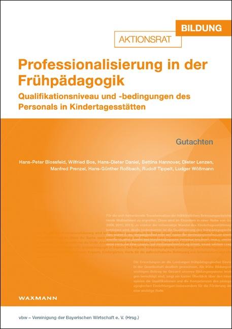 Professionalisierung in der Frühpädagogik