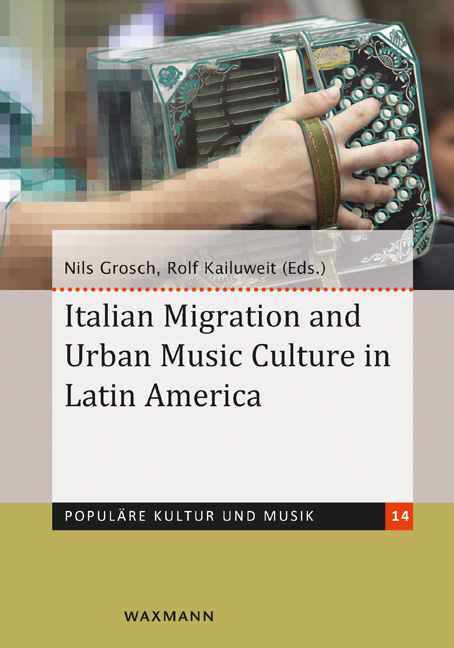 Italian Migration and Urban Music Culture in Latin America