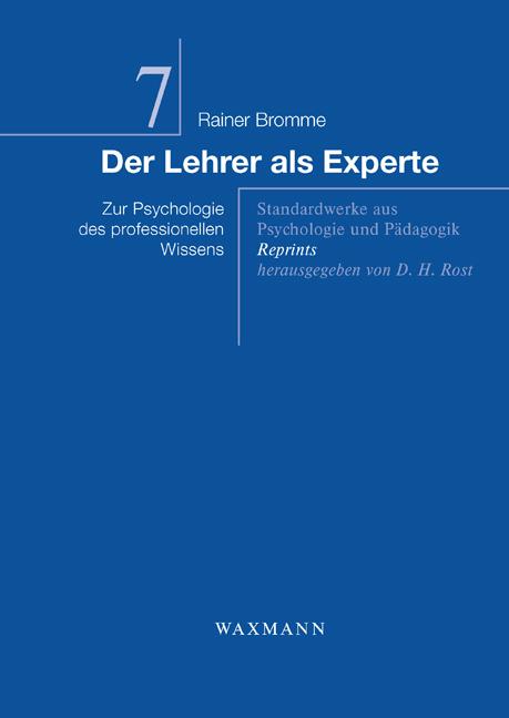Der Lehrer als Experte