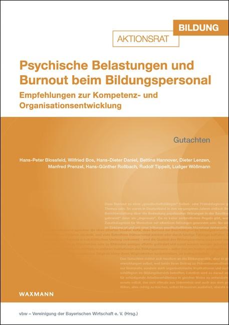 Psychische Belastungen und Burnout beim Bildungspersonal