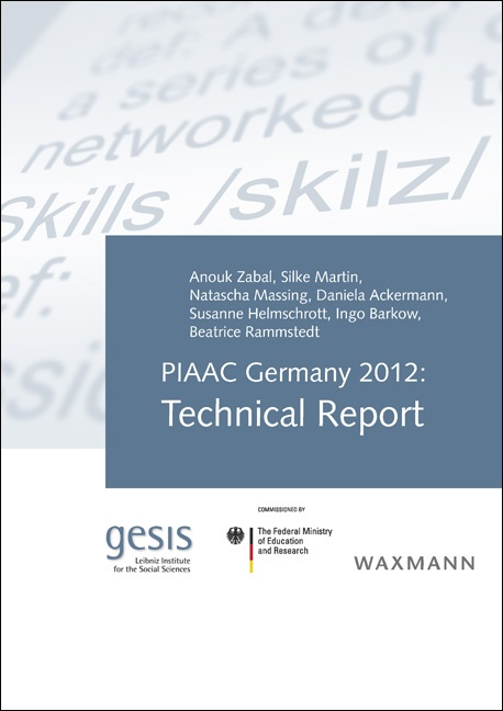 PIAAC Germany 2012: Technical Report