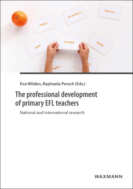 The professional development of primary EFL teachers