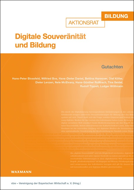Digitale Souveränität und Bildung