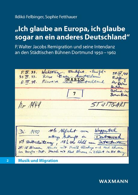 """""""Ich glaube an Europa, ich glaube sogar an ein anderes Deutschland"""""""