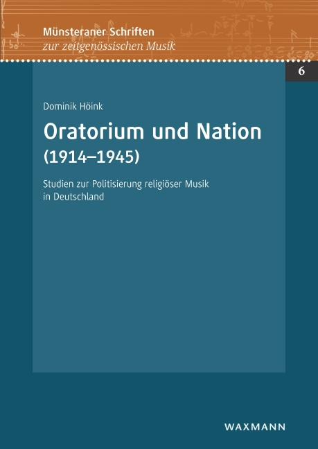 Oratorium und Nation (1914–1945)