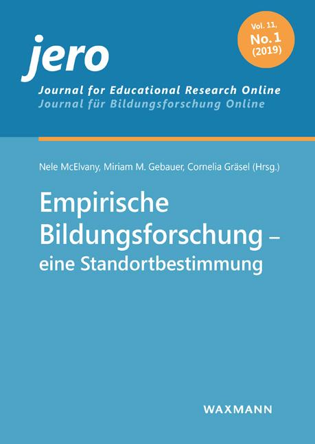 Empirische Bildungsforschung – eine Standortbestimmung
