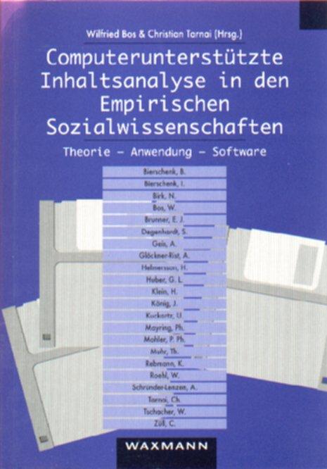 Computerunterstützte Inhaltsanalyse in den Empirischen Sozialwissenschaften