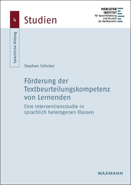 Förderung der Textbeurteilungskompetenz von Lernenden
