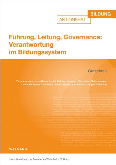 Führung, Leitung, Governance: Verantwortung im Bildungssystem