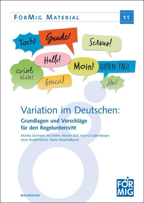 Variation im Deutschen: Grundlagen und Vorschläge für den Regelunterricht