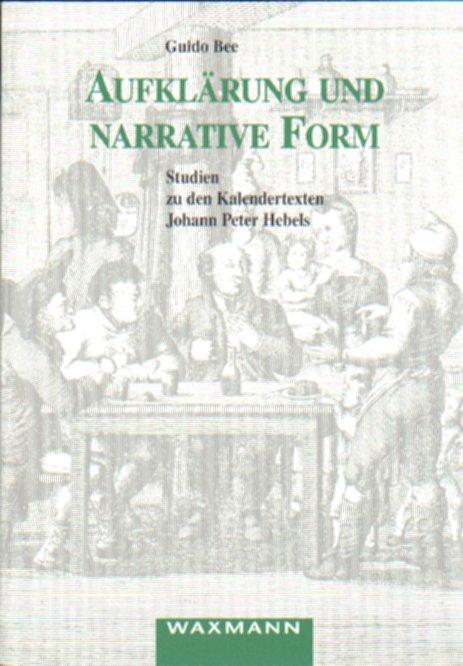 Aufklärung und narrative Form