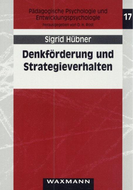 Denkförderung und Strategieverhalten