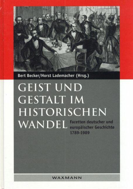 Geist und Gestalt im Historischen Wandel
