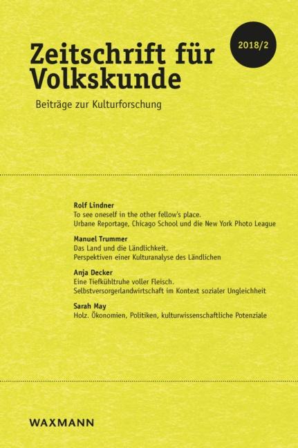 Zeitschrift für Volkskunde