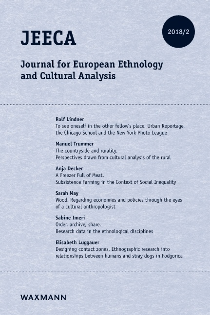Journal for European Ethnology and Cultural Analysis