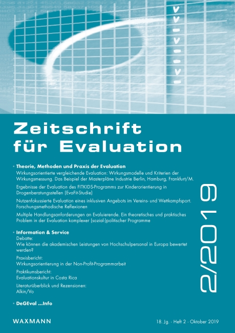 Zeitschrift für Evaluation